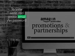 Amazon sizzle reel highlighting events for corporate promotions and partnerships