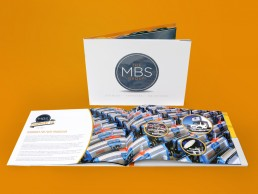MBS Group catalogue design