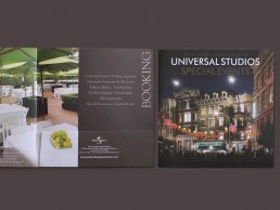Special Events Catalogue designed for Universal Studios