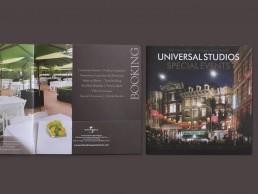 Special Events Catalogue designed for Universal Studios
