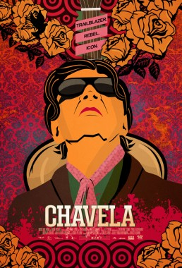 Music Box Films final illustrated teaser key art poster for documentary Chavela