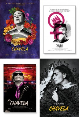 Music Box Films key art poster exploration for documentary Chavela