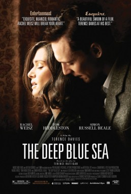 Key art for THE DEEP BLUE SEA starring Rachel Weisz and Tom Huddleston