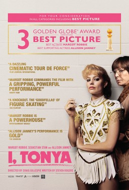 FYC ad for Oscar nominated I, Tonya starring Margot Robbie and Allison Janney