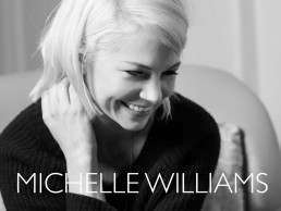photoshoot and sizzle reel with actress Michelle Williams for Manchester by the Sea