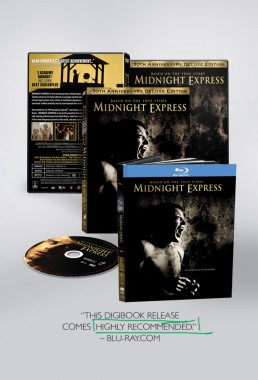 DVD packaging design and Digibook for Midnight Express