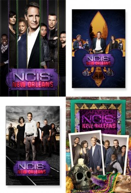 CBS NCIS New Orleans television key art exploration
