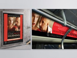 OOH marketing campaign for SOME VELVET MORNING