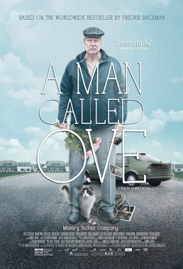 Key art poster for Academy Award nominated foreign film A Man Called Ove