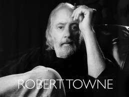 Photoshoot with Academy Award writer of Chinatown Robert Towne
