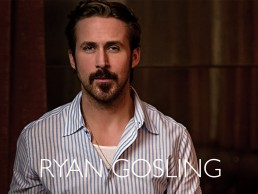 photoshoot and sizzle reel with actor Ryan Gosling, of Drive, Notebook, LaLa Land fame