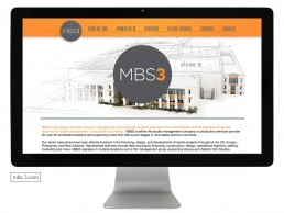 Website design for MBS3