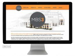 Website design for MBS3