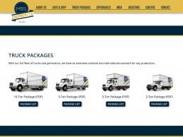 MBS Equipment Co website design