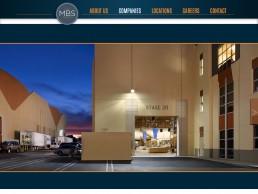MBS Group website slider