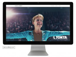 Design for Sierra-Affinity film website includes award-winning films I, Tonya and Molly's Game