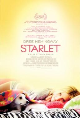Director Sean Baker's indie film poster Starlet starring Dree Hemingway