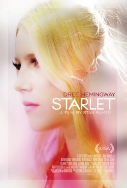 Director Sean Baker's double exposure indie film poster Starlet starring Dree Hemingway