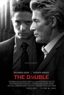 Key art poster for russian spy thriller The Double starring Richard Gere and Topher Grace