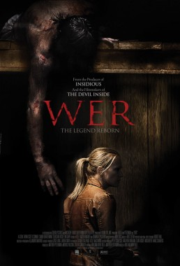 key art poster for horror film Wer