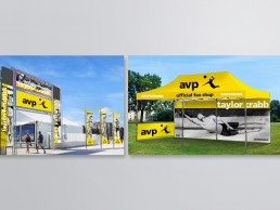 Event graphics for volleyball's AVP