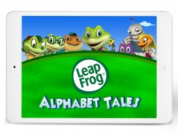 Cover for kids brand LeapFrog Alphabet Tales sales pitch deck