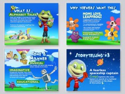 sales pitch deck for kids brand Leapfrog pitch sales deck