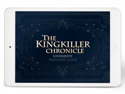 Lionsgate franchise guide design for The Kingkiller Chronicle