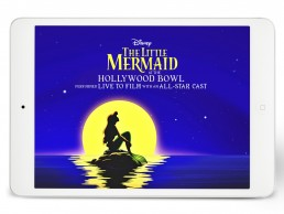 Cover for Disney's The Little Mermaid at the Hollywood Bowl pitch deck