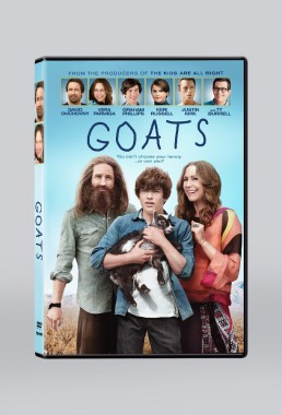 GOATS dvd packaging design