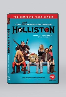 DVD packaging for Holliston