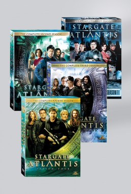 Four seasons of Stargate Atlantis Box Sets