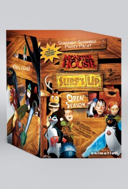 Special DVD box set packaging for Sony Pictures Animation