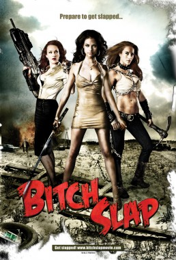Key art poster design for the film BITCH SLAP