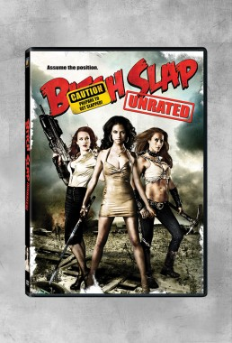 DVD sleeve design for BITCH SLAP