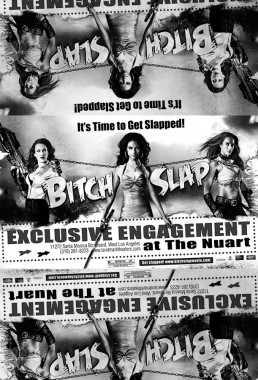 Newspaper ad for the indie film BITCH SLAP