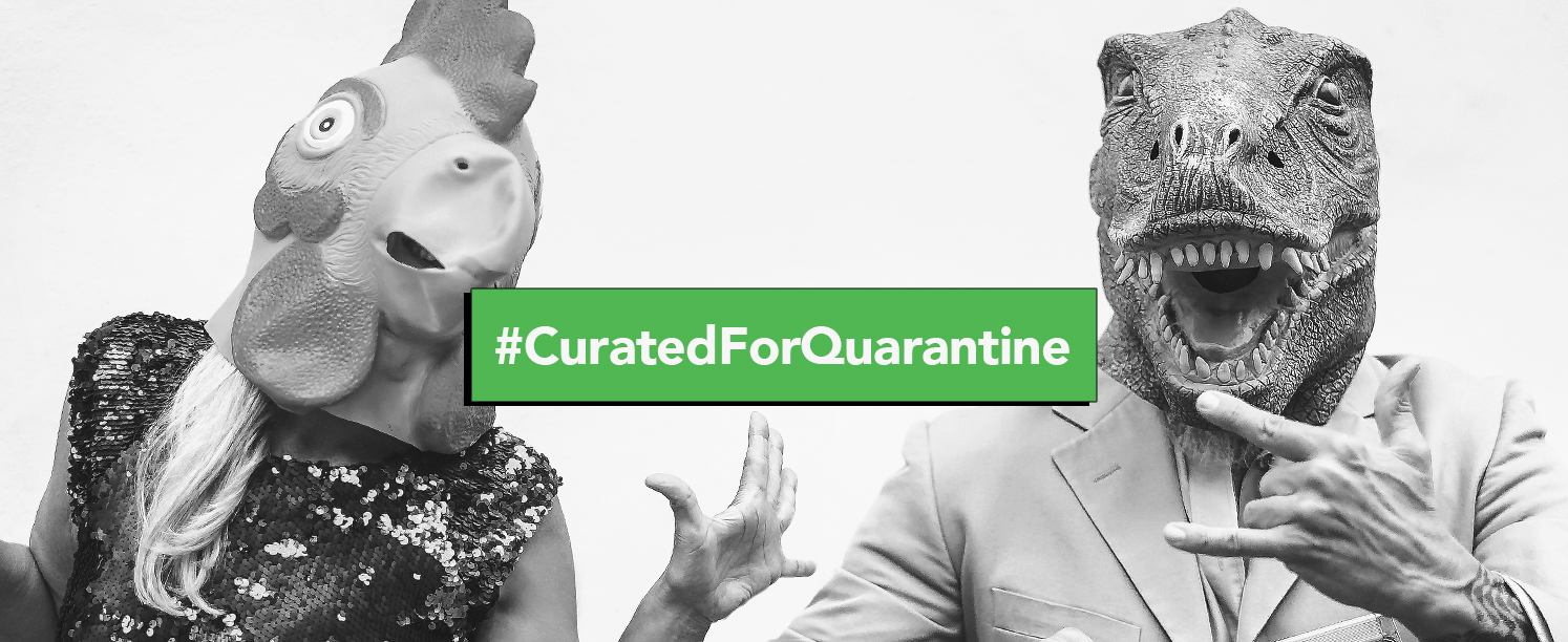 Greenlight Creative's Curated for Quarantine blog post